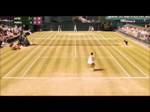 Madison Keys vs Tatjana Maria -||- WIMBLEDON 2015 HIGHLIGHTS DAY 4