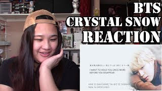 BTS Crystal Snow Reaction
