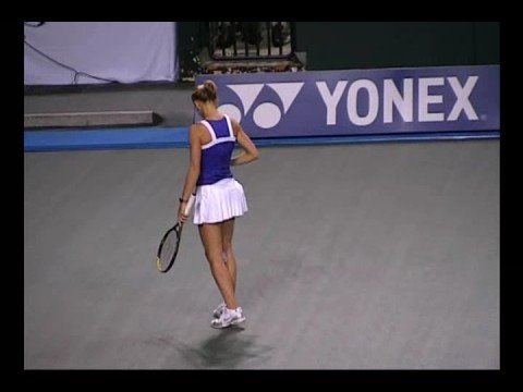 2008 AIG Japan Open R1 Lucie Safarova pt2 Video