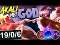 NEW AKALI MET GOD | THIS IS HOW YOU COUNTER REWORKED AKALI | Cho'Gath vs Akali S8 Ranked Gameplay