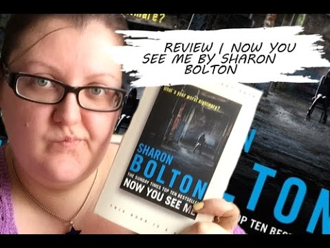 Crime Corner: Review | Now You See Me by Sharon Bolton