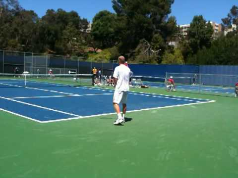 Dmitry Tursunov 1st Round Qualifying in Los Angeles (7/24/10)