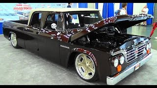 68 Dodge D200 Quad Cab NSRA Street Rod Nationals 2015
