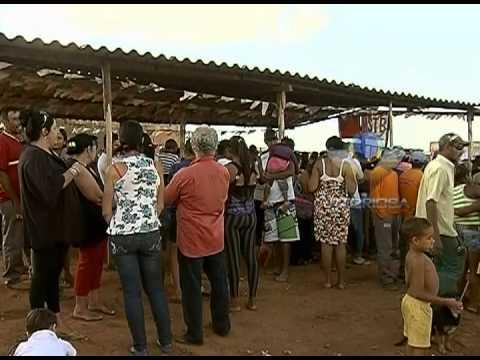 Representante do Ministério das Cidades visita acampamento de Sem Teto