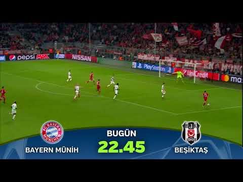 Şampiyonlar Ligi Bayern Münih-Beşiktaş karşılaşması  bu akşam TRT1'de!
