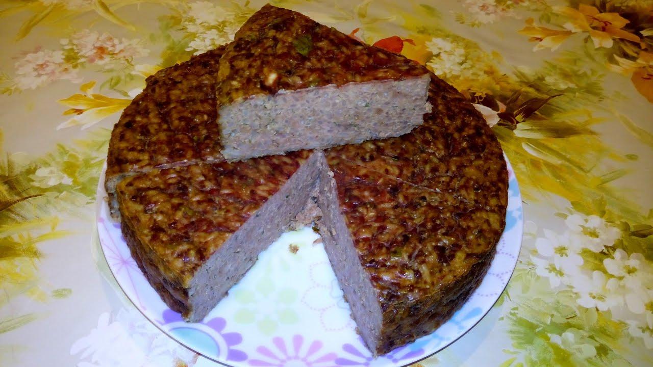 Запеканка из печени с рисом рецепт с пошагово