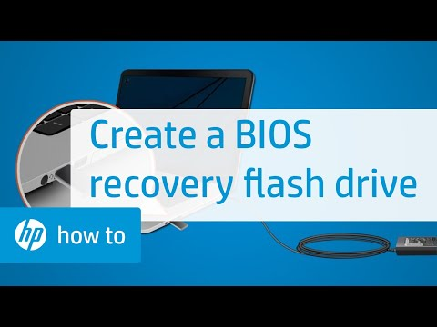 Creating a BIOS Recovery Flash Drive for HP Notebooks