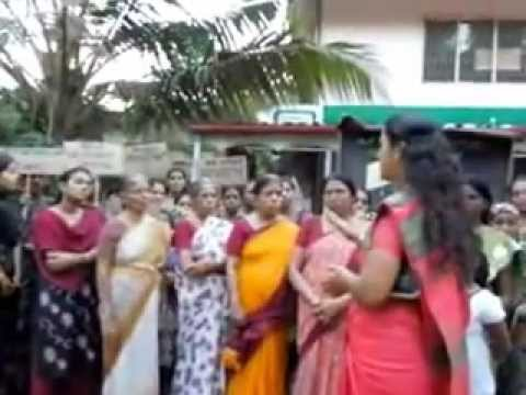 Delhi Rape Protest At Kerala - We Condemn video