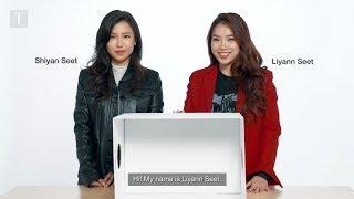 Liyann and Shiyan Seet Take On The Christmas Mystery Box Challenge