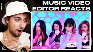 Download lagu Video Editor Reacts to aespa 에스파 'Savage' MV