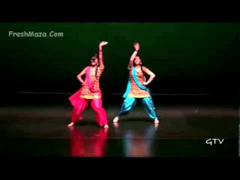 Manpreet & Naina  Warrior Bhangra 2011   Freshmaza Com video