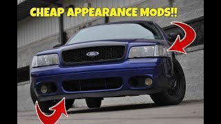 TOP 5 Best Appearance Mods For Your Crown Victoria PART 1 with links!!