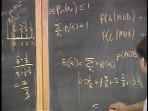 Lecture 2 - Independence, Bayes Theorem, Probability Mass Functions (Part 4/4)