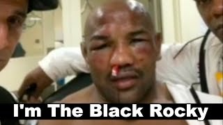 Yoel Romero at Hospital After Robert Whittaker Loss: I'm The Champ, I'm The Black Rocky - UFC 225