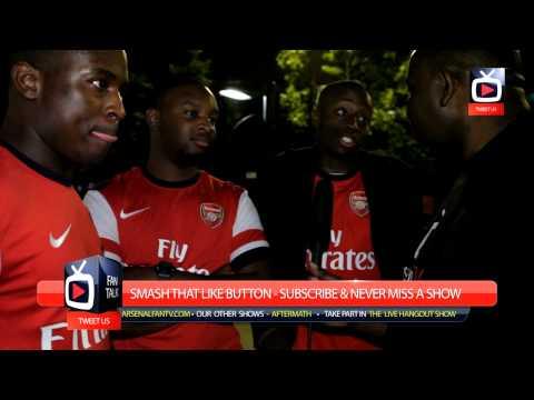 Arsenal FC - Mesut Ozil is World Class say Fans At The Emirates - ArsenalFanTV.com