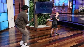 tWitch & Viral Kid Cruise Dancer Show Off Their Moves