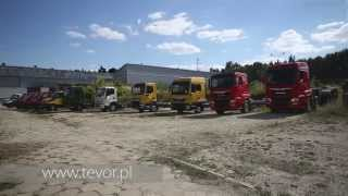 TEVOR S.A. production factory RECOVERY VEHICLE Abschleppwagen POLAND ЭВАКУАТОР