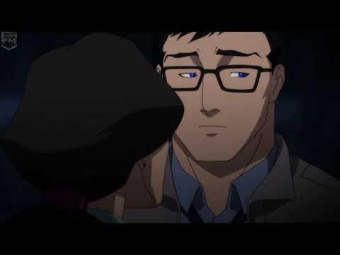 Lois Lane Kisses Clark Kent | The Death Of Superman
