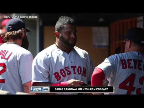 Pablo Sandoval On Switch-Hitting, Red Sox's Explosive Offense