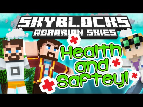 Minecraft - Hardcore Skyblock Part 70: Health And Safety (agrarian Skies Mod Pack) video