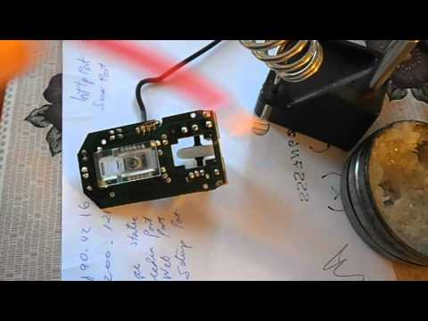 Desoldar componentes metodo del cable de cobre con pasta