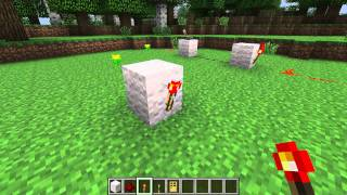 How to make a redstone inverter in Minecraft
