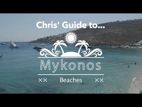 TOP 11 BEACHES IN MYKONOS (CHRIS' GUIDE)