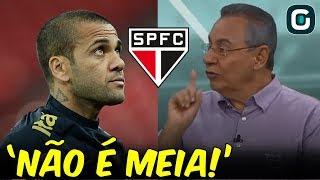 DANIEL ALVES e SÃO PAULO estreiam NOVO uniforme no domingo (16/08/19)