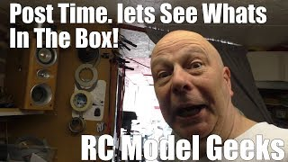 The Postman drops off some packages RC Model Geeks