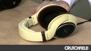 Sennheiser HD 558 and HD 598 Headphones | Crutchfield Video