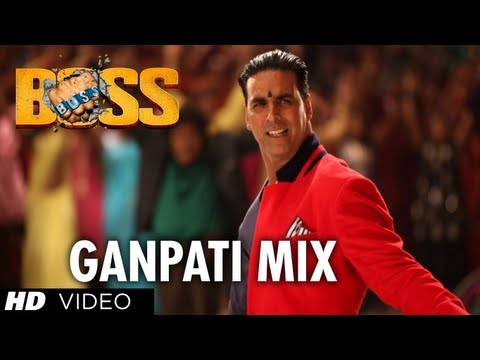 Boss Ganpati Mix Full Song | Boss | Akshay Kumar | Meet Bros...