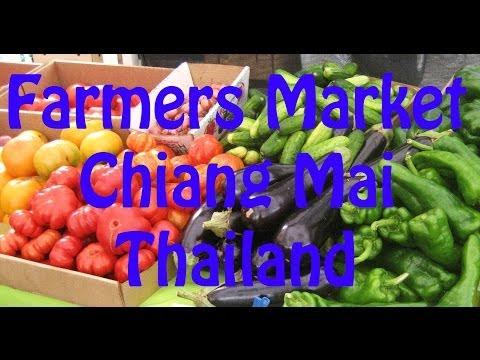 Farmers Market Chiang Mai Thailand