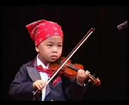 Violin Solo By Multi-talented 4 Years Old Kid video