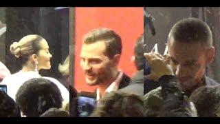 Download Lagu VIDEO Jamie Dornan, Liam Payne & Rita Ora @ Paris 6 february 2018 World premiere Fifty Shades Freed Gratis STAFABAND