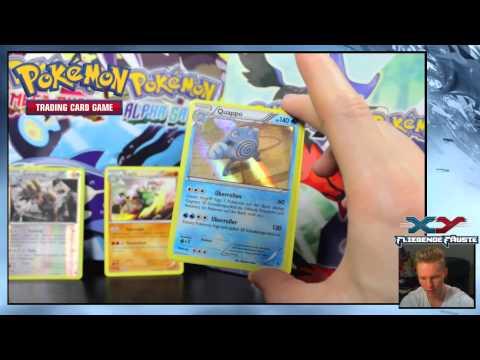 Pokemon video in deutsch   5 Pokemon Booster Packs Furious Fists  Fliegende Fäuste öffnen    Pack Op