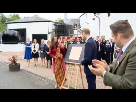 The Duke and Duchess of Cambridge visit Perth and Kinross