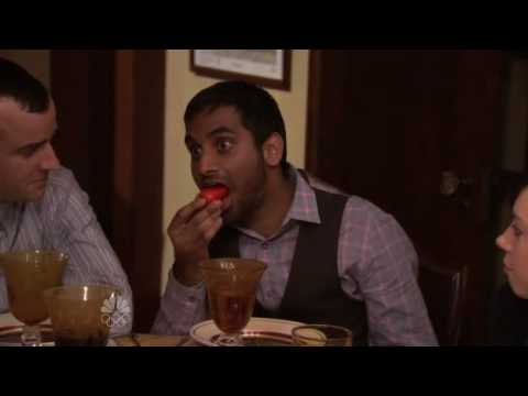 Parks and Recreation - Aziz Ansari - This Is How You Eat It Video