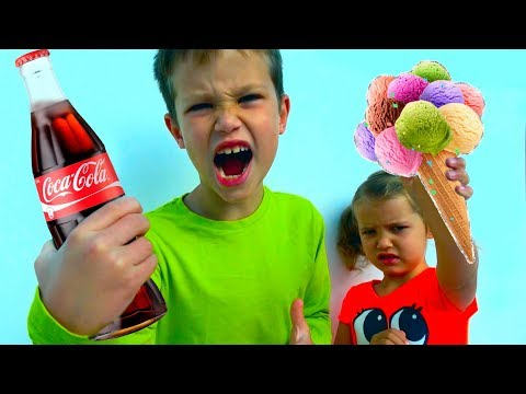 Shopping Challenge - Угадай и Купи/ МАЛЬЧИКИ против ДЕВОЧЕК /Челлендж с Coca Cola and M&M's for kids