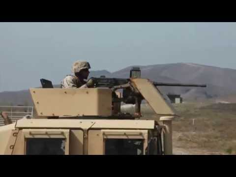 U.S. Marines Fire .50 Cal, Javelin, and TOW Missiles at Camp Pendleton