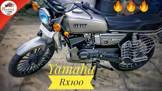 Yamaha Rx ? Gun Metal Gold Shine Awesome Look(PAINTING FROM CM)#GENIUNE.