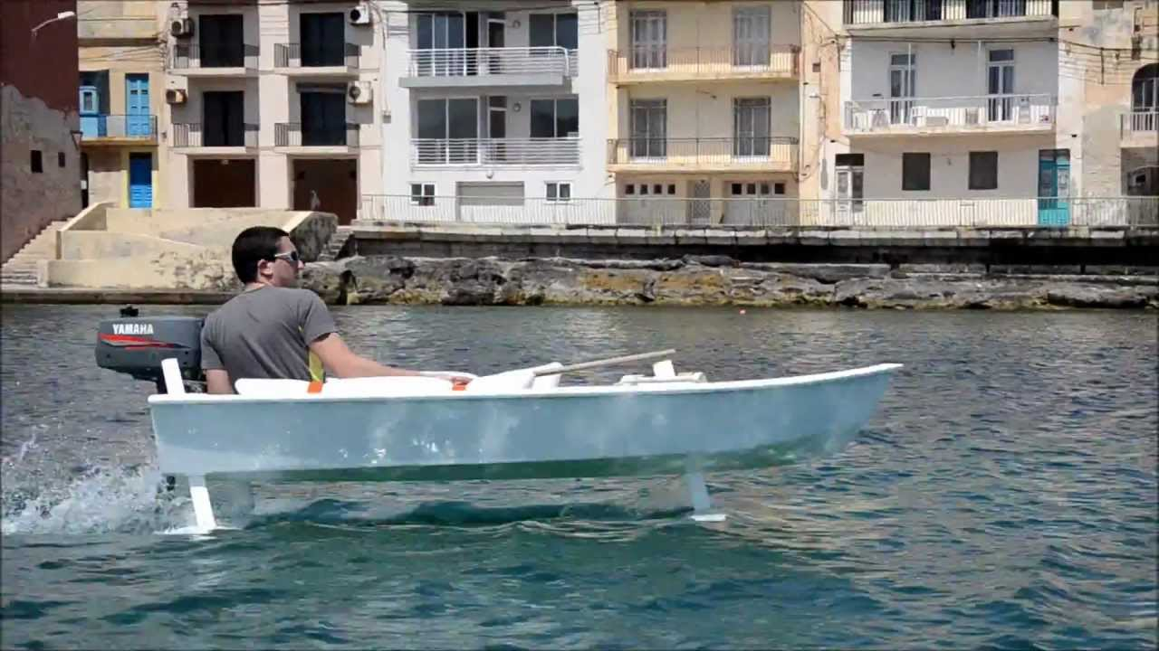 Design And Build Of A Prototype Hydrofoil Craft Youtube