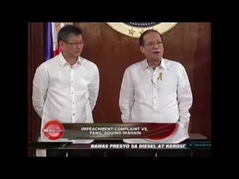 Impeachment complaint to be filed against Pres. Aquino