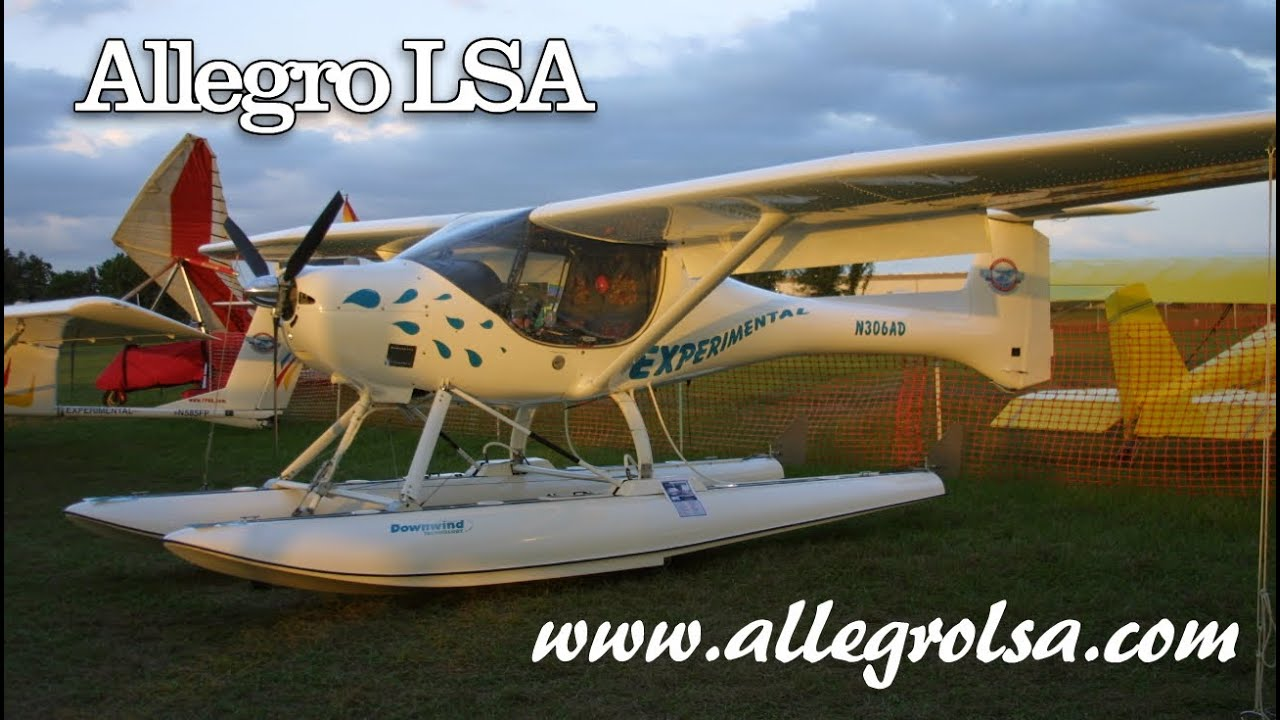 Kit Light Sport Aircraft Allegro Light Sport Aircraft