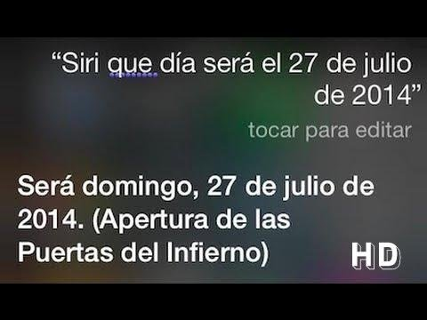 27- Julio- 2014  Siri | Advertencia Siniestra