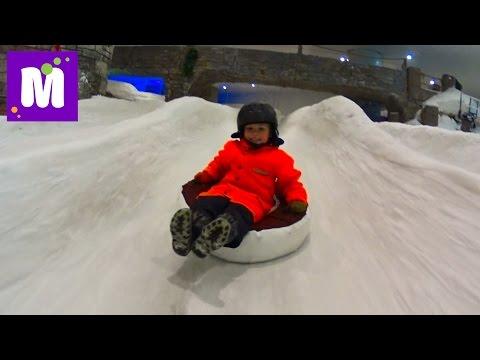 #4 Стамбул катаемся на санках в снежном парке гуляем по аквариуму