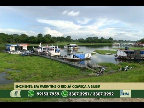 Enchente em Parintins - Am, o rio já começa a subir
