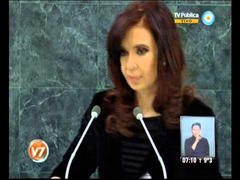 Visión 7: Fuerte discurso de la Presidenta en la ONU