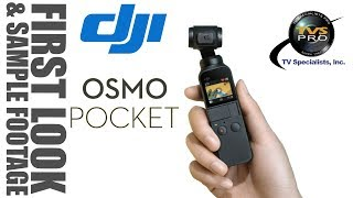 DJI Osmo Pocket - FIRST LOOK & SAMPLE FOOTAGE