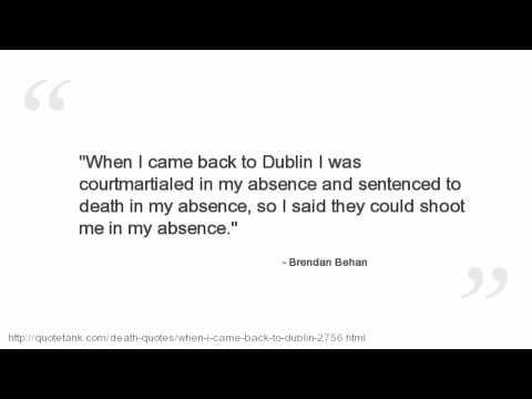Brendan Behan Quotes