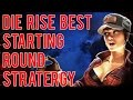 ZOMBIE TIPS : Die Rise - Best Starting Rounds Strategy (Great Leap Forward)